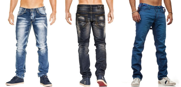 La mode et les jeans pour homme
